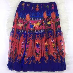 "Vivienne Tam Skirt size ""2"" US 4/6 equivalent"